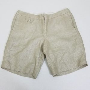 J. Crew City Fit Womens Champagne Size 14 Shorts